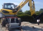 debroussailleuse rail route