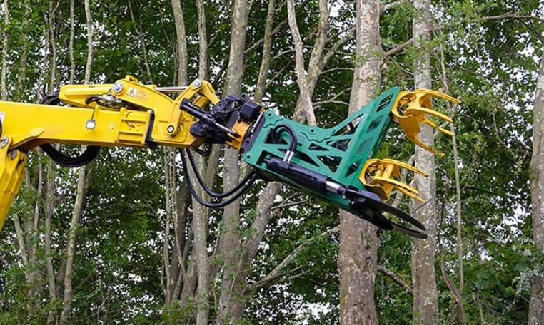 secateur abattage forestier seve